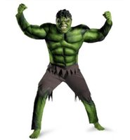 Wholesale Hot sale Hulk The Avengers Mascot Costumes Halloween Christmas Birthday Party Dress Costume