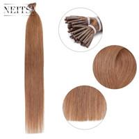 Wholesale Neitsi inch g g pc Keratin Sticks I Tip Hair Extensions Silky Straight I Tip Hair Real Human Hair Pre Bonded Hair