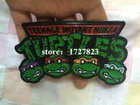 belt company - Teenage Mutant Ninja Turtles belt buckles unique green TMNT pewter belt buckle Texas Western Buckle Retail company