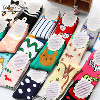 animated socks - Animated cartoon cute ms pure cotton towel looped tube socks thickening in autumn and winter to keep warm Japanese tide female socks
