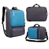 Wholesale Laptop Backpack Inch Multifunction Briefcase shoulder bag handbag Travel school Bag For Macbook Pro Air man woman