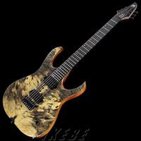 Wholesale Mayones duvell elite custom electric guitar buckeye woods top Ebony fingerboard