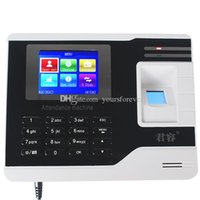 big machine records - 2 quot Color Big Screen Time Record Fingerprint Attendance Machine System Without Software F6104B
