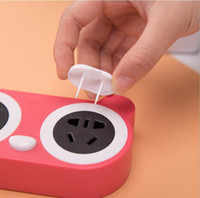 baby proof electrical outlets - 100 Socket Cover Outlet Cover Baby Safty Proof Child Baby Electrical Electric Socket Security Plastic Safety Safe Lock Cove