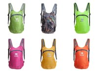 Wholesale Jungle Man Outdoor Climbing Backpacks Athletic Rucksacks Ultra Light Foldable Polyester Waterproof Packs Sports Cycling Hunting Bags