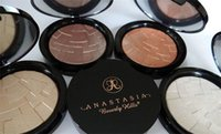 Wholesale 2016 New Pre sale anastasia Beverly Hills ILLUMINATOR POUDRE ECLAT Makeup Highlighter Powder Palette Shimmer pressed powder NET WT g Oz