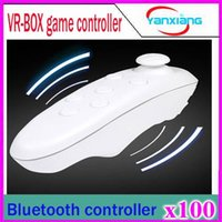 For Xbox Wireless Controller Shock 100PCS VR BOX Mini Self Timer Smart Phone Universal Wireless Bluetooth 3.0 Compiant Remote Game Controller for IOS Android Pc YX-BOX-V