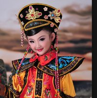 Wholesale Buy The new high grade children costume little queen child costume royal clothing performance wear clothes ZhenHuanChuan children Q