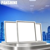 bathroom suspended ceiling - 2016 new Ultra Thin W W lighting integrated ceiling lamp LED flat panel kitchen office bathroom aluminum buckle embedded square lamp
