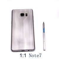 Wholesale Note7 Note Goophone Unlocked Cellphone MTK6580 Quad Core inch Android G RAM G ROM show G LTE Sealed Box