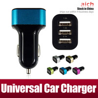 ac quality cars - Top Quality V A mah usb port car charger AC adapter universal car charger Colorful for e cigar iphone samsung S7 S4 S5 S6