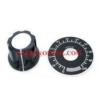 aluminium control knobs - Precision dial knob Numeric Aluminium Control Knob Potentiometer