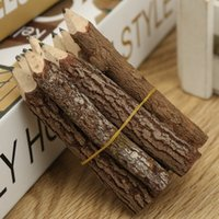 Wholesale pack Excellent Branch And Twig Graphite Pencils Wood Pencil Crafts Pen Soft Pencil for Kids Student School Office Supplies