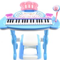 Wholesale Children Electronic Organ Electronic Keyboard Organ With A Microphone Musical Piano Children Piano Baby Toys Birthday Gift
