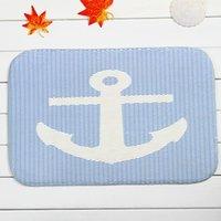 Wholesale Non slip Bath Mat Coral Velvet Rug Shower Carpet x60cm Stripe Anchor Cartoon Mats for Bathroom Kitchen
