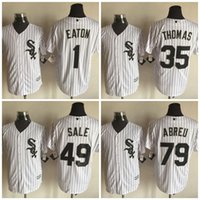 adam white baseball - Mix Order Chicago White Sox Adam Eaton Jerseys Baseball Jersey Frank Thomas Stitched Logo Embroidery Jose Abreu Jersey