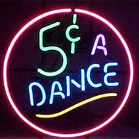 bars dance - Dance Glass DIY LED Neon Sign Flex Rope Neon Light Indoor Outdoor Decoration RGB Voltage V V