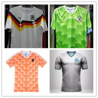 argentina clothing - Retro European Cup Classic Vintage Netherlands soccer clothes jersey shirts Three Musketeers Gulitefan Basten retro Argentina jersey