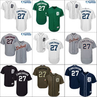 authentic jordan jersey - Grey white blue Jordan Zimmermann Authentic baseball Jersey Men s Majestic MLB Detroit Tigers Flexbase Collection stitched S XL