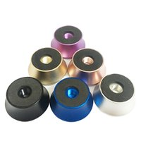 Aluminum Alloy aluminum decking materials - Vaporizer RDA Stand Holder Base Atomizers Electronic Cigarettes Clearomizer Deck Stand Aluminum Material Colorful Vape Threaded