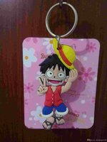 animations stainless steel - 10 of animation cartoon a luffy helicopter metal key chain pendant keys