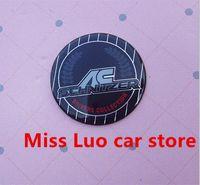 Wholesale 45mm car AC SCHNITZER colorful Steer Wheel Badge Emblem Sticker M3 M5 Auto Accessories