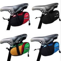 Wholesale 2016 Roswheel Outdoor Cycling Mountain Bike Bicycle Saddle Bag Back Seat Tail Pouch Package