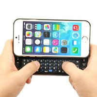 Wholesale KEEPING Ultra Thin Mini Backlit Sliding Slide Out Wireless Bluetooth Keyboard for Apple iPhone S