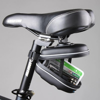 Wholesale New Roswheel Waterproof Cycling Mountain Road MTB Bicycle Bike Saddle Seat Rear EVA Bag Quick Release Bag Black