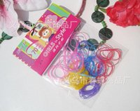 bags artificial jewelry - 2016 Magic price Korean jewelry candy colored rubber band hair accessories for children dedicated travel bag