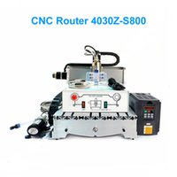 Wholesale Mini CNC Router CNC CNC Engraving Machine With Ball Screw W VFD Spindle For Woodworking PCB Drilling Metal Milling
