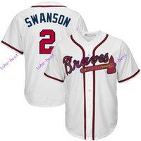 american baseball kid - Atlanta Braves Dansby Swanson Cheap American Baseball Jerseys mens women kids Stitched Jersey