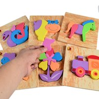 Wholesale Soft Thick Safe Eva Foam Baby Puzzle Toy
