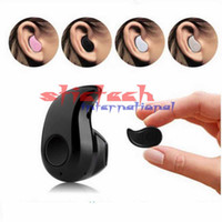 Wholesale by dhl or ems pieces Mini Wireless Bluetooth Headphone S530 In Ear V4 Stealth Earphone Phone Headset Handfree Universal