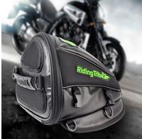 Wholesale Riding Tribe Motorcycle Leather Saddle Bags Travel Tool Tail Bag Waterproof Riding Handbag Backpack Motocicleta Oil Tank Bag
