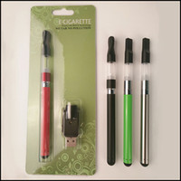 Wholesale Colorful Vaporizer Pen - Newest Colorful BUD Touch Vape O Pen CE3 Blister Kits with CBD Oil 510 Cartridge Vaporizer CE3 Battery vape pen ecigs kit