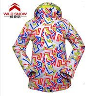 Wholesale Ski Jacket Women Windproof Waterproof Snowboard Outdoor Skiing Camping Riding Clothing Female Thicken Winter Coat