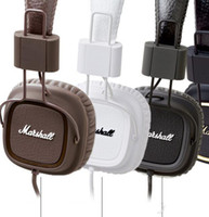 Wholesale Majors I Headphones DJ Studio Headphones Deep Bass Noise Isolating headset Monitorring for iphone Samsung marshall