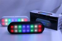 Revisiones Portable speaker for mp3 player-El más reciente de la píldora BT808NL XL altavoz inalámbrico Bluetooth Mini Altavoz portátil reproductor de música con LED de luz de flash caja al por menor BT808L