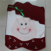Wholesale Christmas Products Christmas Seat Cover Family Equipment Must Be Santa Claus Grandfather cm