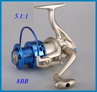 Wholesale Fishing Reel spinning reel sea river Interchangeable Collapsible Handle Fishing Spinning Reel Wheel OUT0631 DHL free