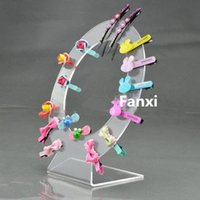 acrylic risers - of Acrylic Round Hairpin Display Holder Hairclip Display Stand Hair jewelry Display Riser