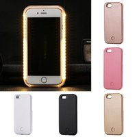amazing iphone cases - 2016 AMAZING LED Light Up Selfie Case for iPhone S USB Rechargeable