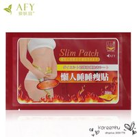belly loss diet - 10Pcs Bag Slim Patch Pads Detox Weight Loss Slimming Diets Thin Belly Post Stick Beauty Care Products Women Fat
