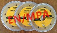 Wholesale European EN Germany MPA certified pc115mmturbo Super thin hot pressing high sharp diamond saw blade segment turbo type year promotion
