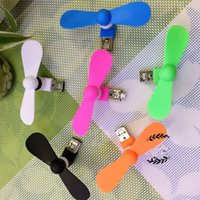 Wholesale Top quality best price in Android iphone Phone Fan Micro USB MINI Portable Fan For Android and iphone Smart Phone Port Laptop Desktop