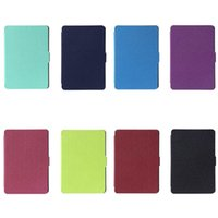 Wholesale Ultra Slim Leather Smart Lightweight Durable Cover Case for Amazon Kindle Paperwhite Tablet Cases Covers