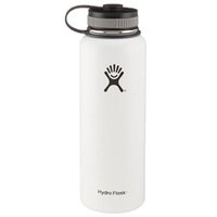 Wholesale 1 Clone oz oz Water Bottle Hydro Flask cups Vacuum with Flat Cap Stainless Steel HYDRO FlASK Wide Mouth Bottles