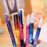 Wholesale 2016 star series super cute adorable writing mm black neutral pen pen school office the children go to school for