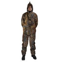 Wholesale bionic withered dead grass camo hunting suit jacket pants trousers hunting clothes